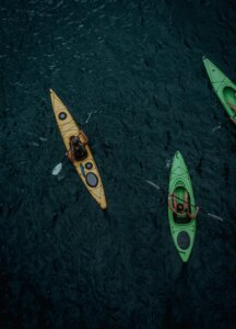 Kayak and canoe guide services