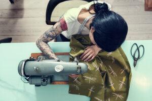 hand sewn clothing
