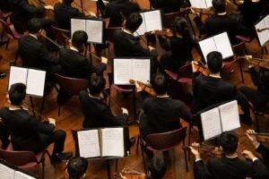 Symphony orchestra instruments