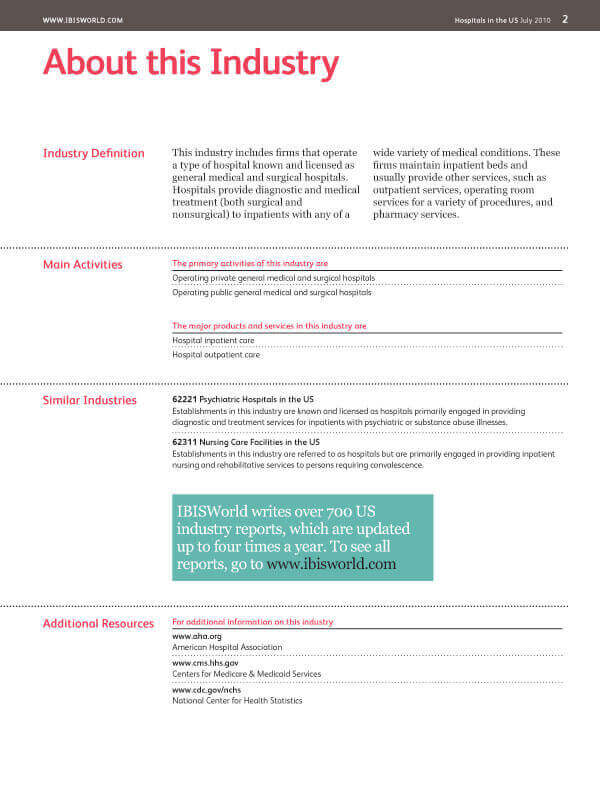 industry research sampleplan5 full brochure 2