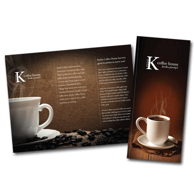 brochure or flyer design