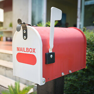 real estate business plan mailbox delivery