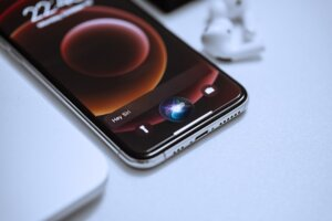 Siri enables a CRM program to respond to consumer inquiries,
