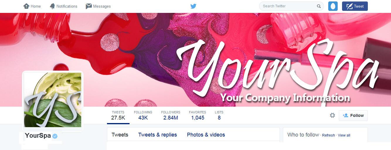 Social Media Design img-Twitter