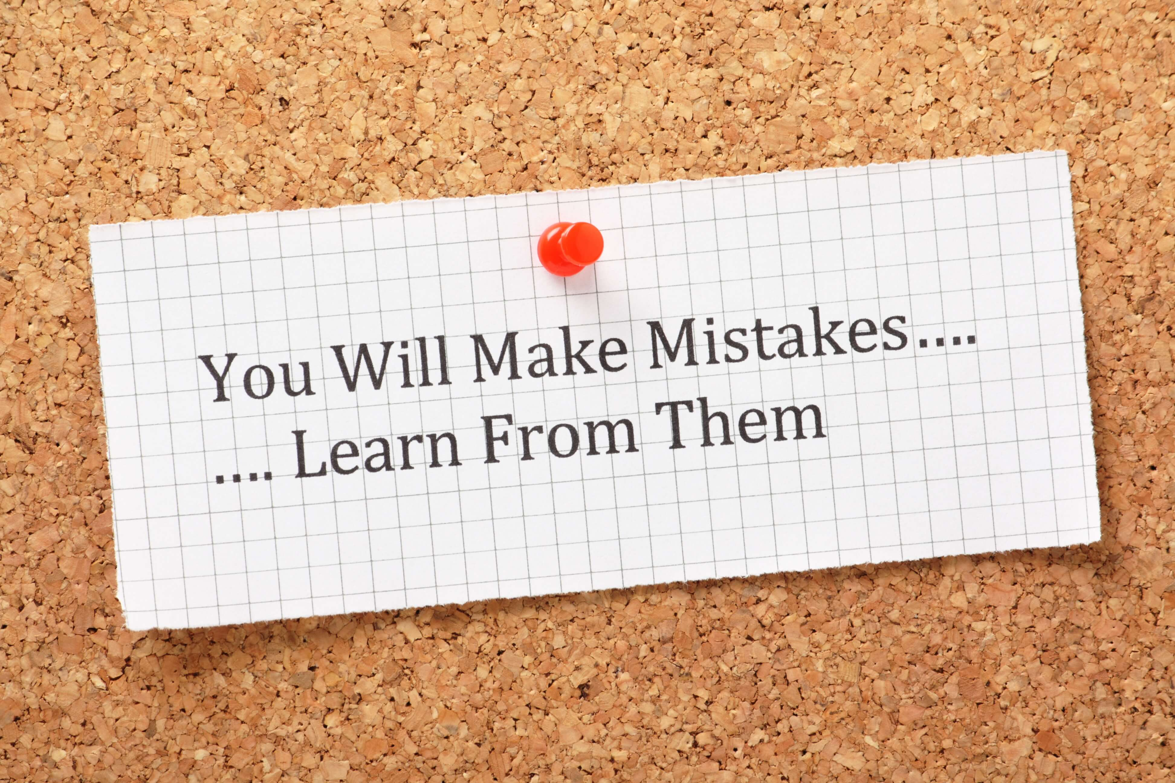 Mistakes Don't Have to Define You or Your Career