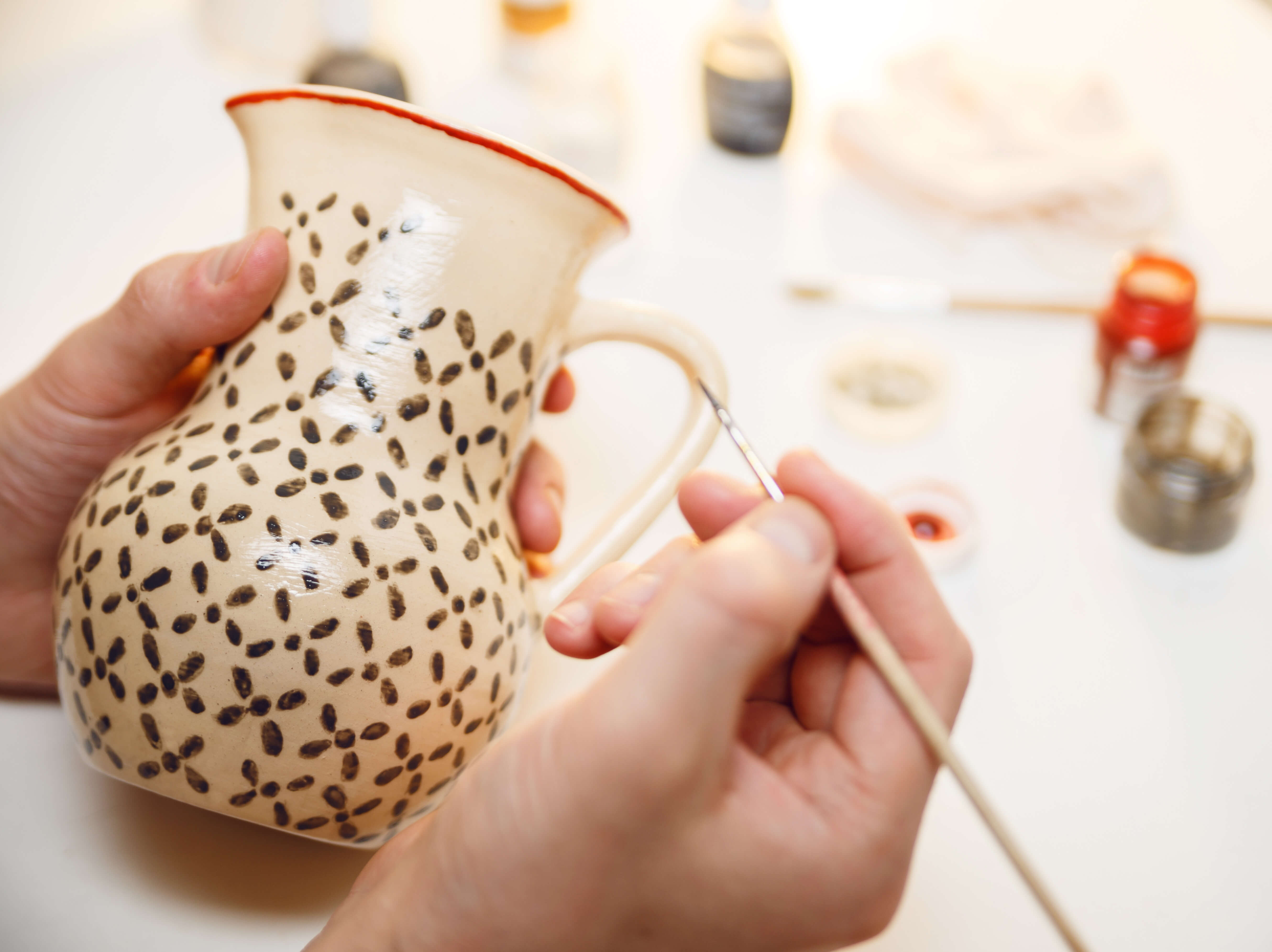 Starting an artisan pottery business